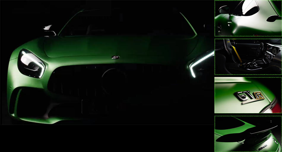 New GT R Teased, No, Not From Nissan, But From Mercedes-AMG [w/Video]