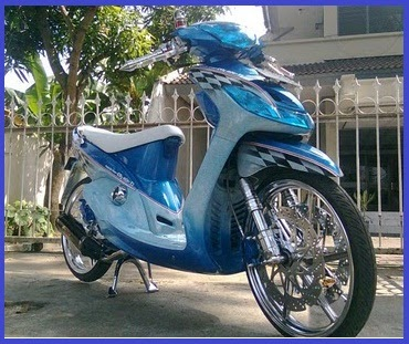 Yamaha Mio Racing Sporty Elegant Modified