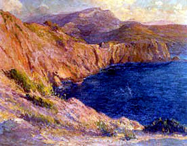 Joan Colom i Agustí, Costas de Mallorca, Mallorca en Pintura, Mallorca pintada, Paisajes de Mallorca