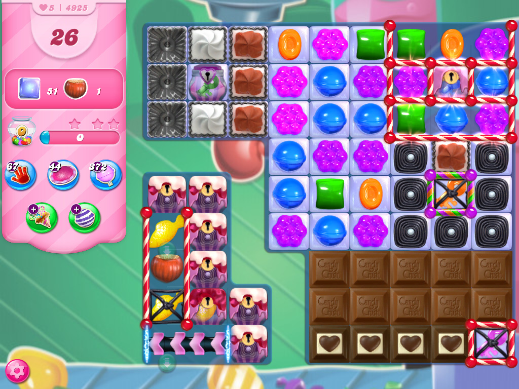 Candy Crush Saga level 4925