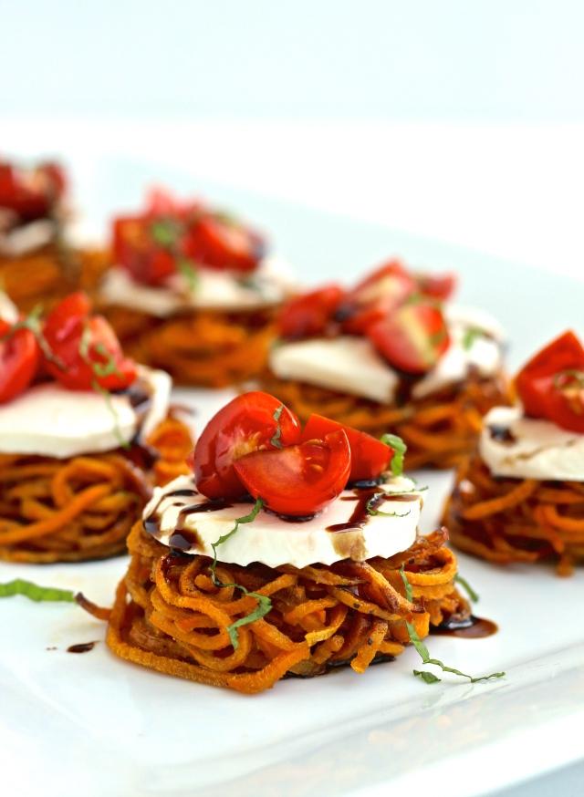 #sweetpotato #caprese #sliders #thefoodiephysician