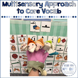Core Vocabulary in Special Education