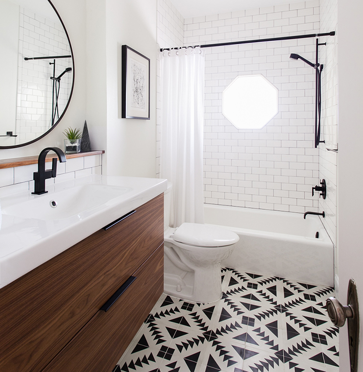 Bathroom Accessories West Elm decor & interiors file: one room challenge week 3 | the vault files