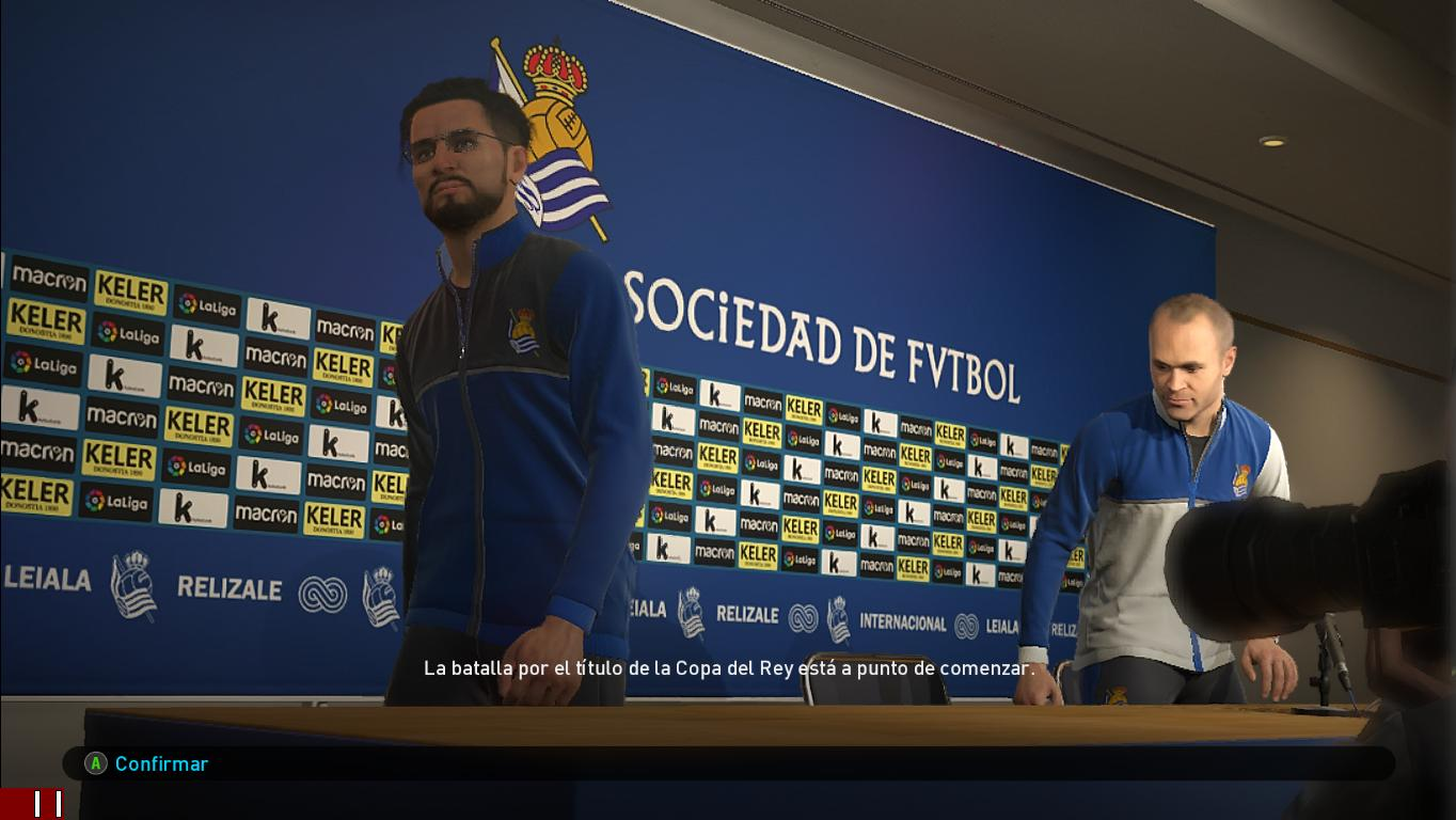 PES 2019 Real Sociedad Press Room by Ivankr Pulquero