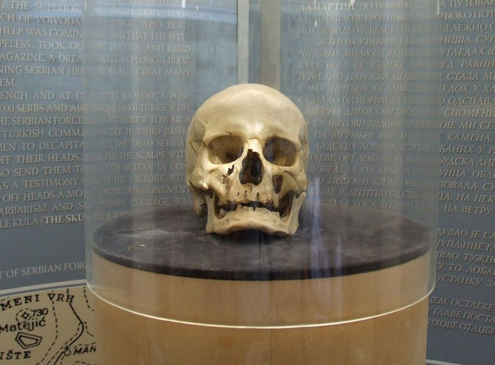 Skull Tower of Niš