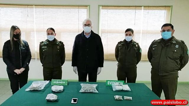 Carabineros se refiere a la incautación de droga en Osorno