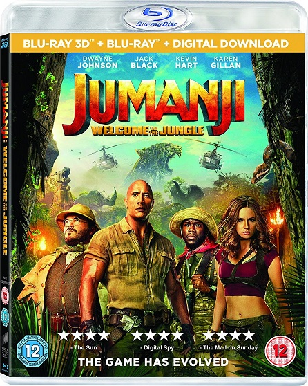 Jumanji: Welcome to the Jungle 3D (Jumanji: En la Selva 3D) (2017) m1080p BDRip 3D Half-OU 18GB mkv Dual Audio DTS-HD 7.1 ch