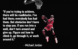 Motivational quote of the day by Michael Jordan