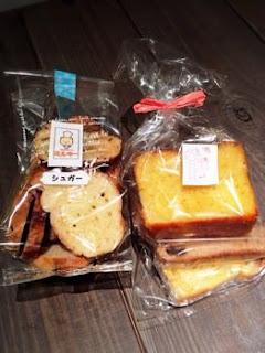 パンとラスクと焼き菓子