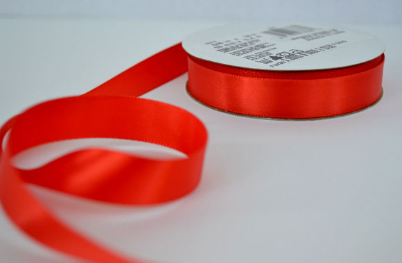Orange ribbon for bachelorette party favor