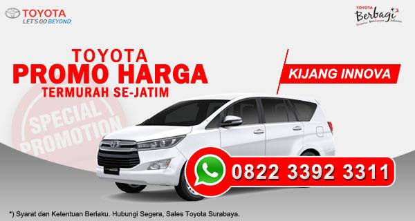 Promo Harga Toyota Kijang Innova Surabaya