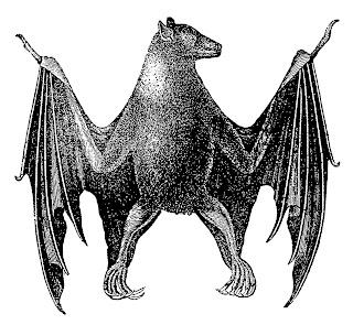 halloween bat scary image digital crafting illustration