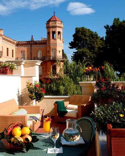 Hilton villa igiea palermo style classic luxury 4 star for Design hotel palermo