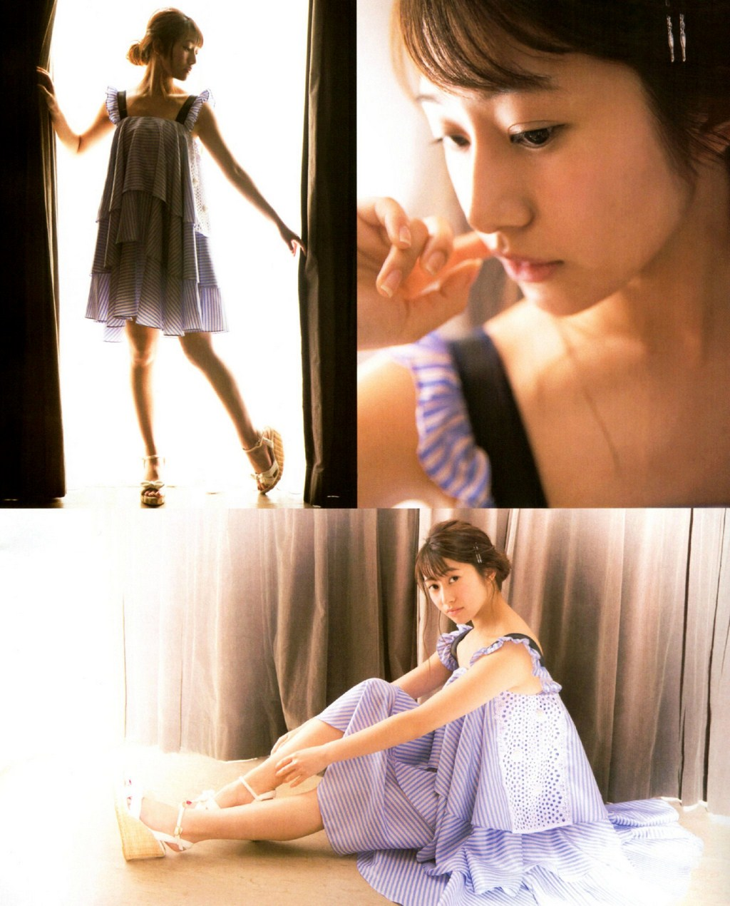 Sakurai Reika 桜井玲香 Nogizaka46, BUBKA Magazine June 2016 Gravure