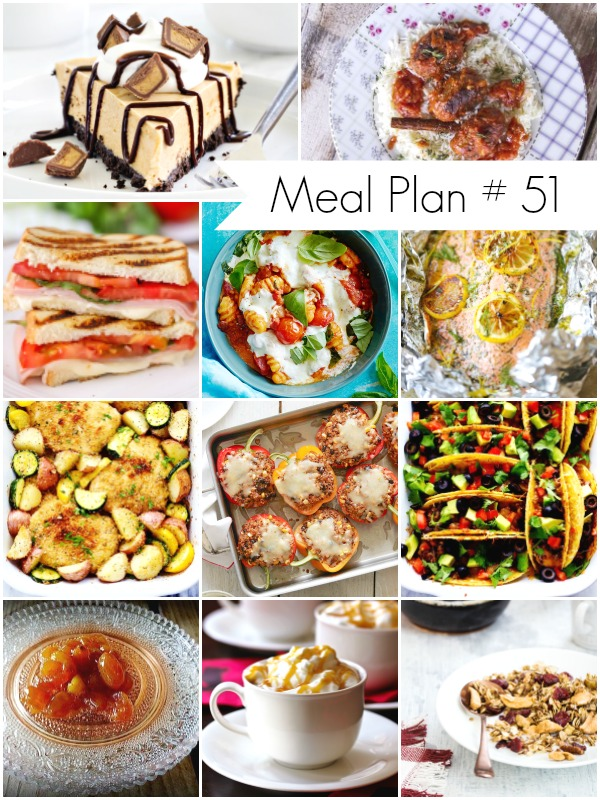 Weekly Meal Plan #51 - Delicious recipes for the whole family
