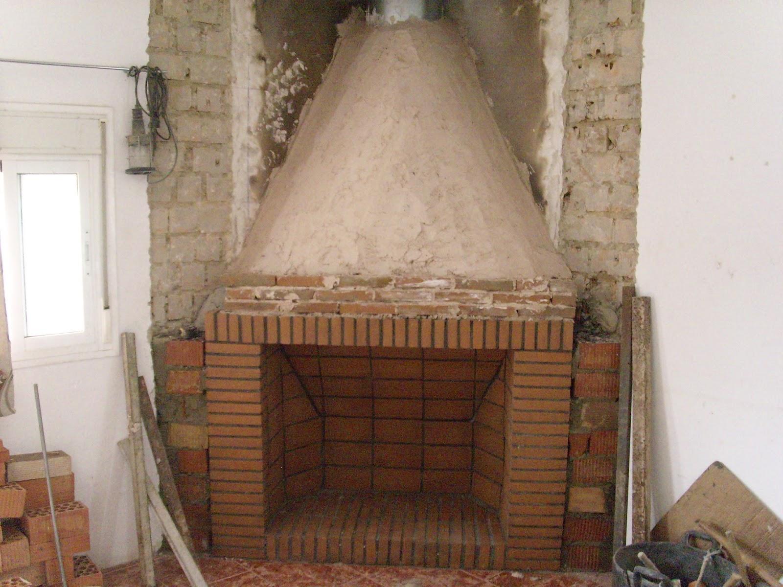 Construcci n tradicional geom trica como construir una - Chimenea ladrillo ...