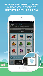 Waze Screenshot - Report Real-Time Traffic and Road Conditions to Improve Driving for All
