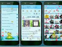 BBM MOD FROGY Apk v3.2.0.6 Full Picture Terbaru