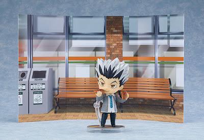 "Nendoroid Kotaro Bokuto School Uniform Ver. de ""Haikyu!!"" - Orange Rouge"