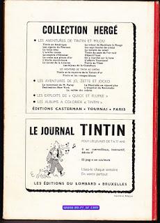 Recueil, Tintin, édition Belge, numéro 77, 1967