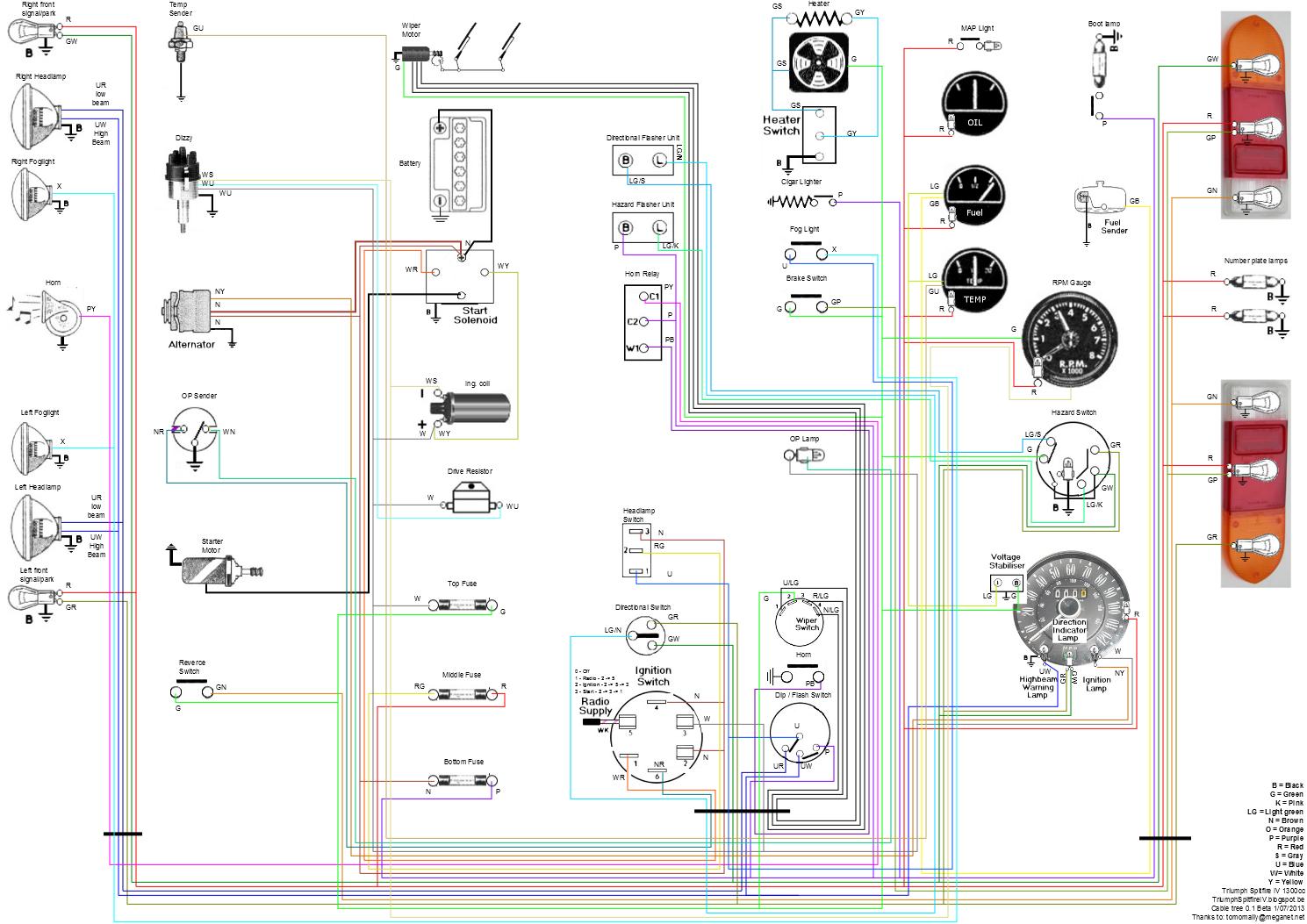 medium resolution of 1970 tr6 wiring diagrams wiring diagram triumph tr6 transmission triumph tr6 fog lamp wiring diagram
