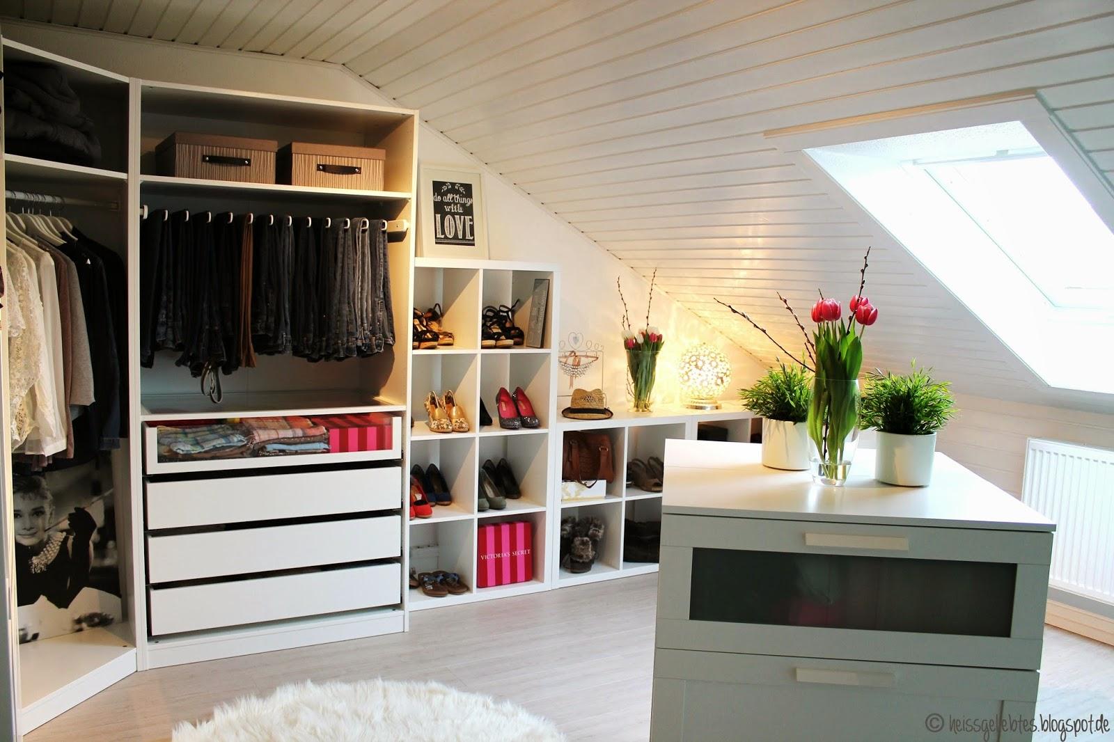 ankleidezimmer mit dachschrge home creation - Ankleidezimmer