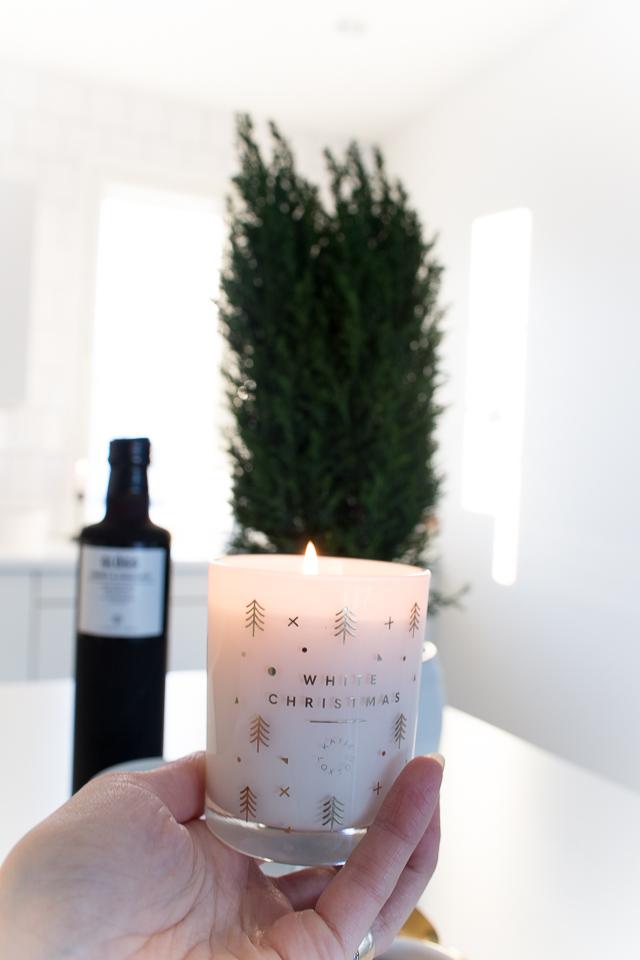 joulukynttilä, kynttilät, Villa H