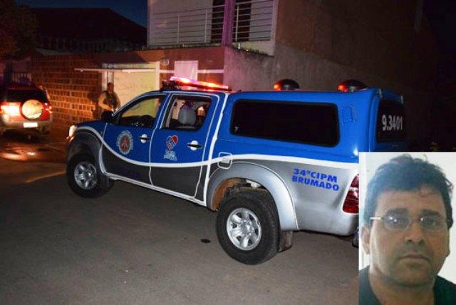 Comerciante é morto na frente da esposa e da filha de 12 anos em Brumado