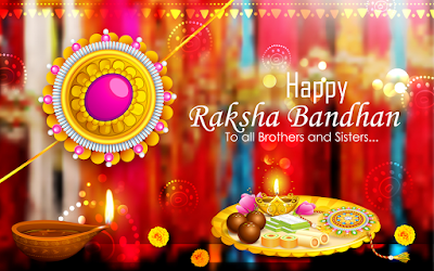Raksha Bandhan greetings for brother and sisters