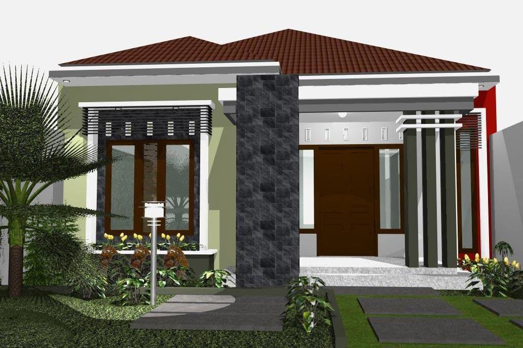 model rumah minimalis 1 lantai idaman