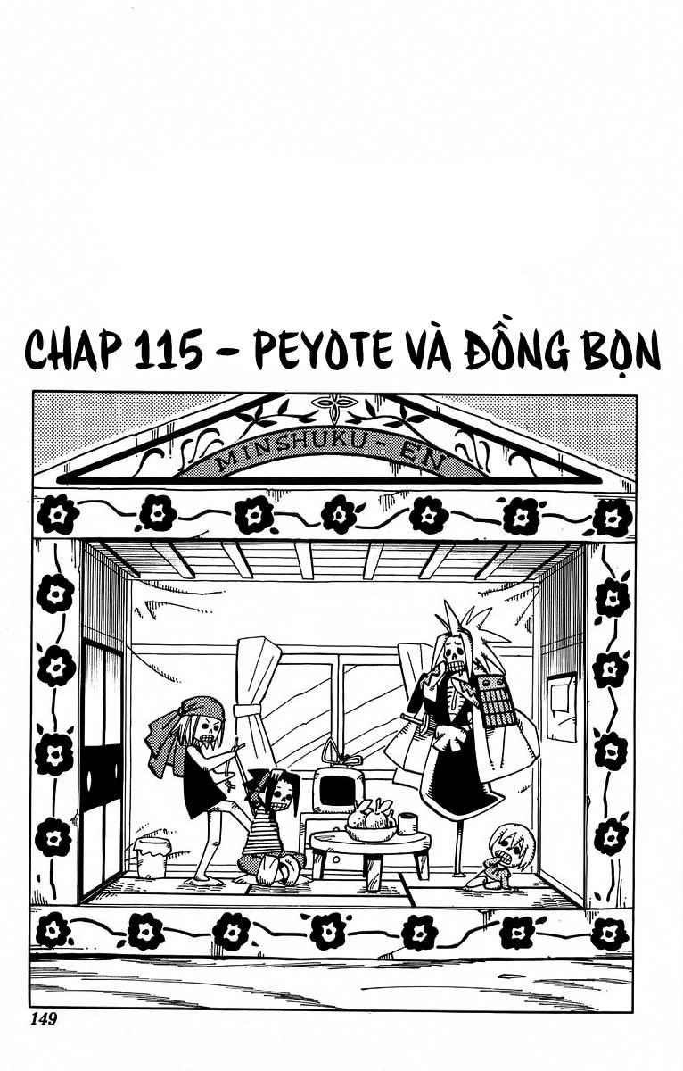 Shaman King [Vua pháp thuật] chap 115 trang 3