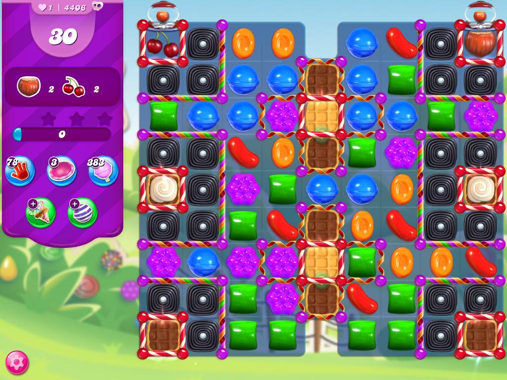 Candy Crush Saga level 4406