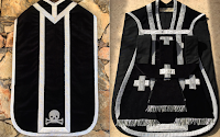 A Contemporary Black Vestment Set with Memento Mori: Theorized and Realized