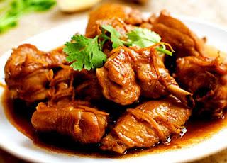 Resep Ayam Tumis Jahe