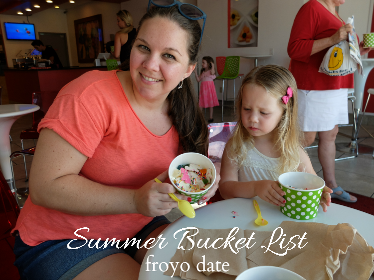 Sweet Turtle Soup - Summer Bucket List | froyo date
