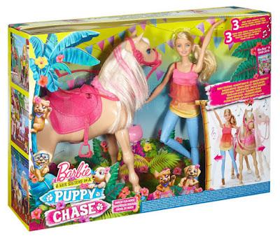 JUGUETES - BARBIE y sus hermana Barbie y su caballo bailarín + Muñeca Mattel DMC30   PELICULA 2016   A partir de 3 años Comprar en Amazon España