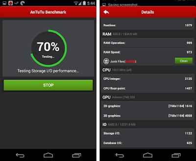 تطبيق AnTuTu Benchmark لاختبار اداء هاتفك الأندرويد ومعرفة هل أصلى أم مقلد