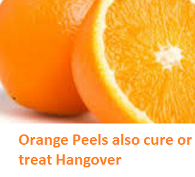 Orange Peels also cure or treat Hangover - Oranges citrus fruit peel (Santre Ke Chilke)