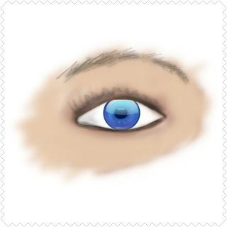 Bulek lamno keturunan Portugis yang memiliki mata biru