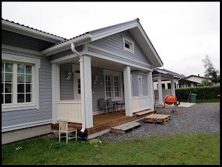 Landetalo - Talo pieneen kaupunkiin: Otsalaudat