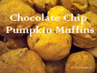 Chocolate Chip Pumpkin Muffins. SmellingCoffee.com