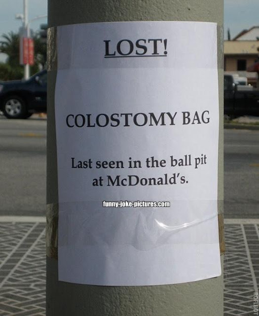 Last seen in the ball pit at McDonalds