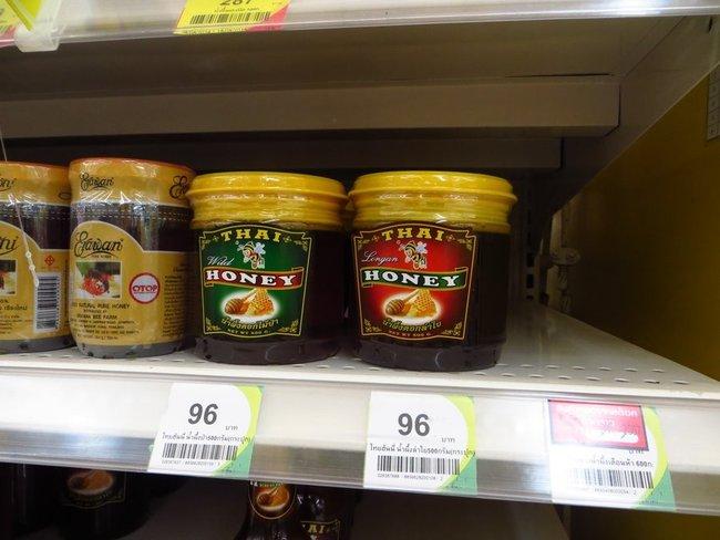 Тайский мед в Теско Лотус