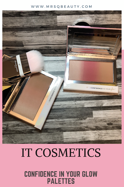 It cosmetics Confidence in Your Glow Palettes (Natural and Nude Palettes) Plus, One Sweet Wonder Brush Review