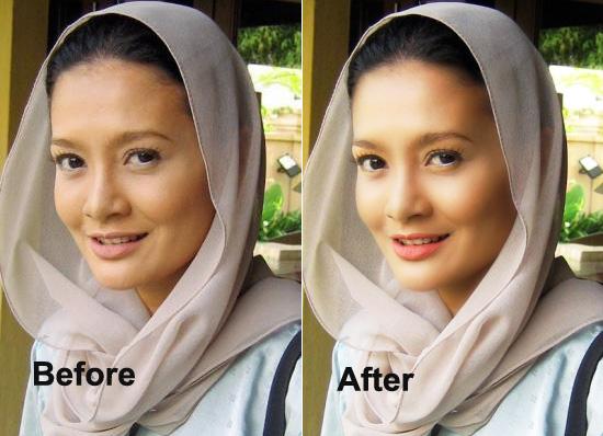 Cara Membuat Efek Glamour Glow Pada Foto