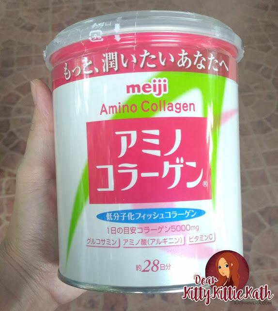 Product review meiji amino collagen dear kitty kittie for Best fish collagen