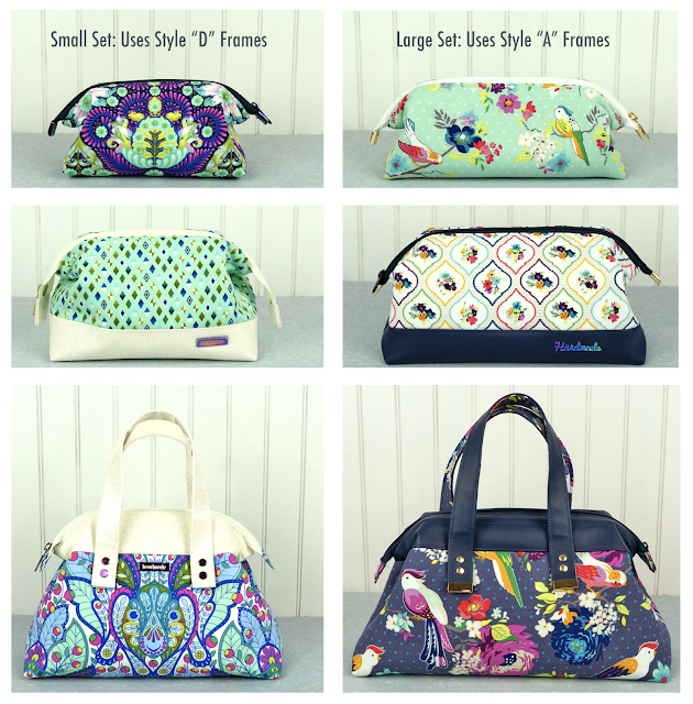 Trifect Zip Bags - 6 sizes by Janelle MacKay of Emmaline Bags
