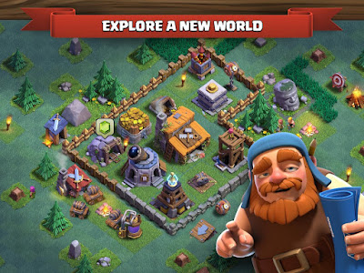 Clash of Clans v9.105.9 Mod Apk Unlilmited All Android