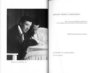 "The title page and frontispiece for ""Judaism Despite Christianity."""