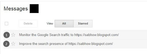Blog Ki Traffic Ko Monitor Kaise Kare - Google Websmaster Tips